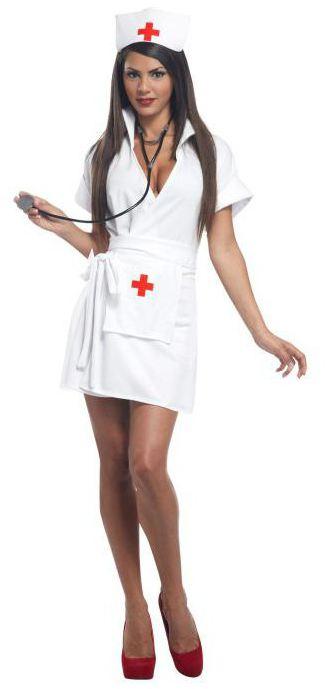 Костюм на хэллоуин кровавая медсестра