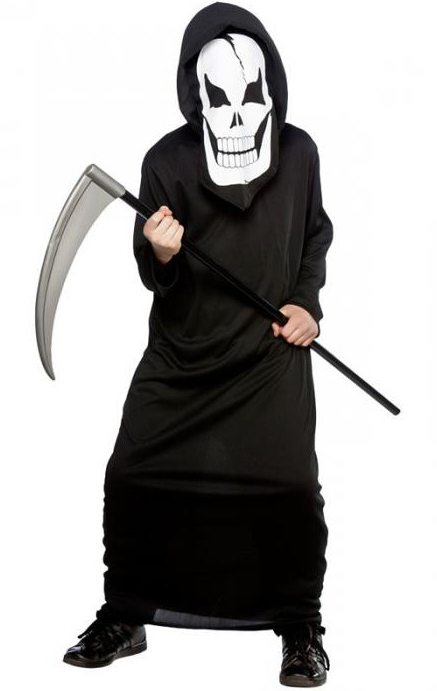 Костюм смерти на хэллоуин