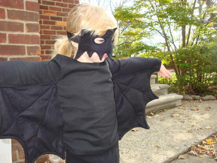 Как сделать костюм летучей мыши своими руками 92