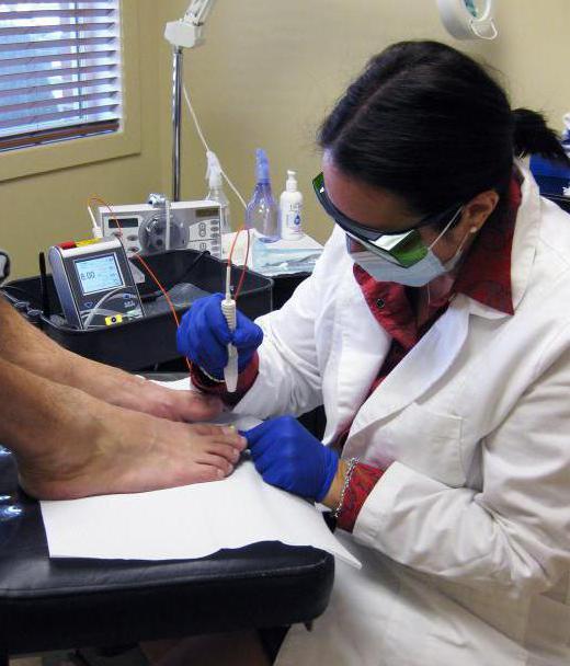 Ем лечить грибок ногтей на ногах