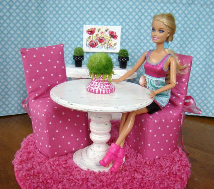 Как сделать кукольный стол фото 284