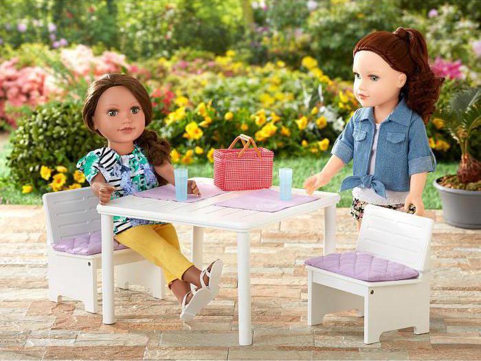 Как сделать кукольный стол фото 21