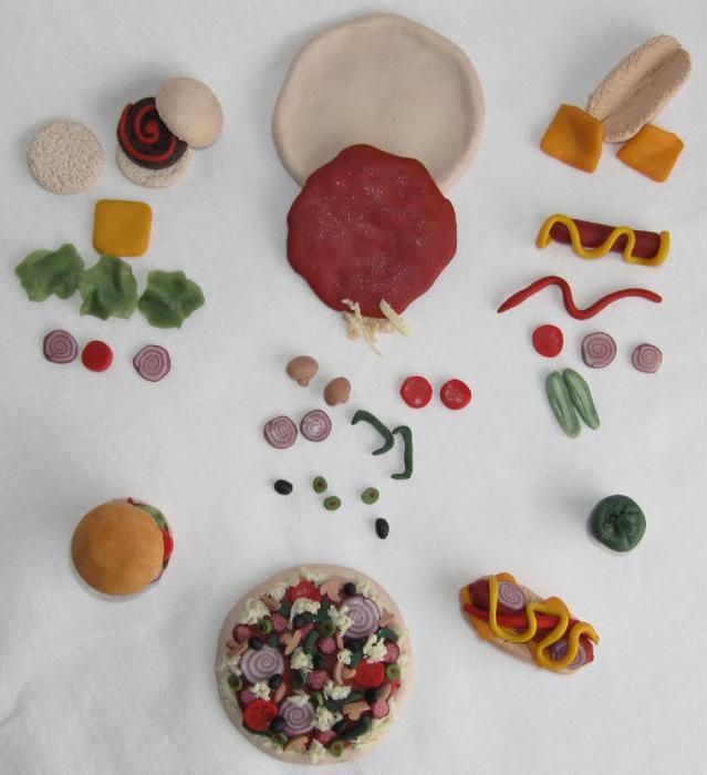 Картинки что можно слепить из пластилина еду