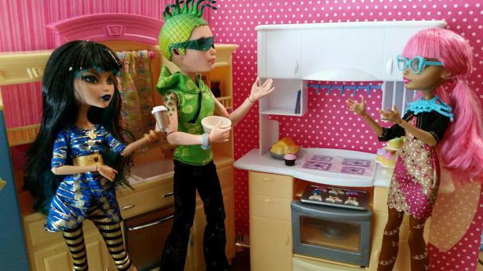 Как сделать еду для кукол монстр хай