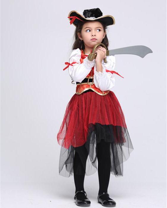 Карнавальный костюм разбойницы для девочки