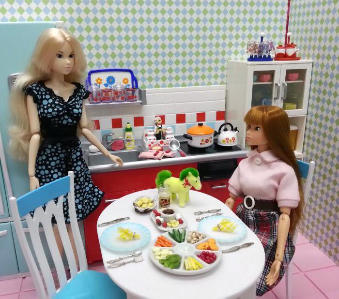 Как сделать посуду для куклы