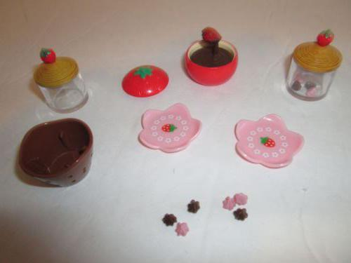 Как сделать посуду для кукол