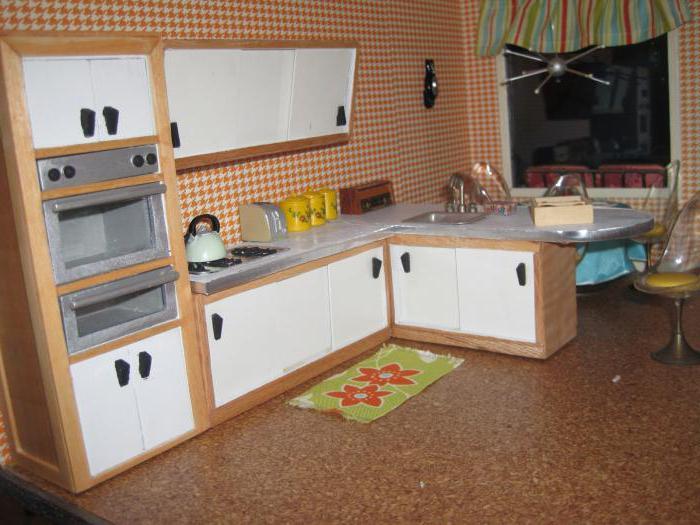 кукол кухня своими для руками мебель