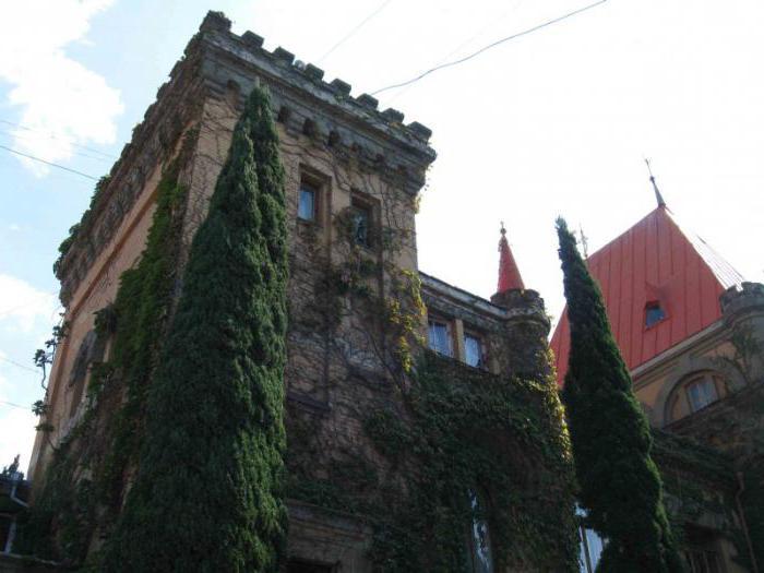 Дворец княгини Гагариной в Крыму - рукотворный памятник вечной любви