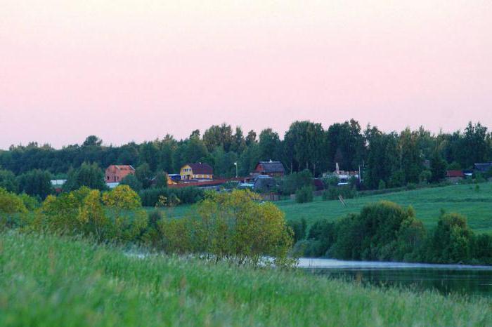 Деревня мстинский мост
