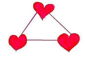 Любовный треугольник: все ли стороны равны? Можно ли разрушить данную фигуру?