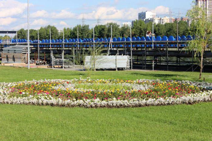 Братеевский каскадный парк вход