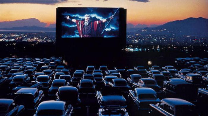 Кинотеатр под открытым небом москва в машине