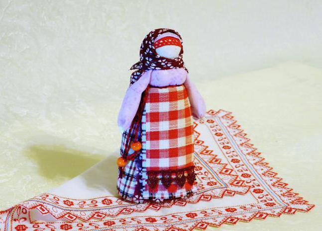 Народная кукла берегиня