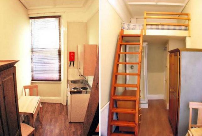 Самая маленькая квартира в мире в париже