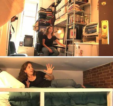 Самые маленькие квартиры в мире планировки