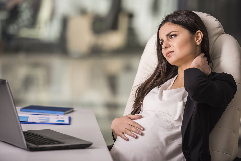 how not to get tired at a pregnant computer