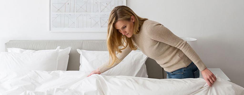 нужно ли гладить постельное белье из поплина