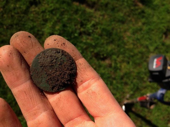 Как очистить монеты от грязи 50 драмов армения 2003 с медным покрытием цена