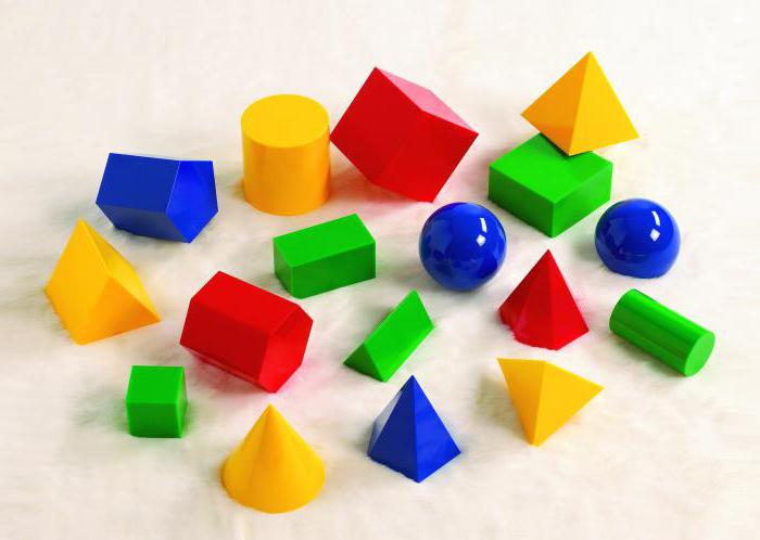 5 геометрических фигур