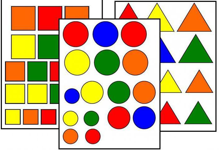 Учим геометрические фигуры с малышами