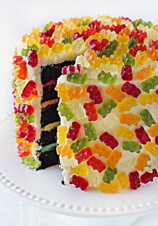 торт печенье мармелад