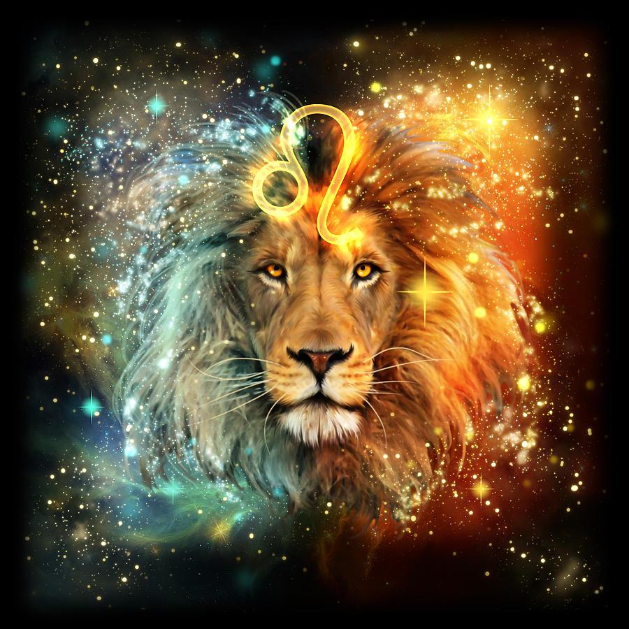 lion zodiac image