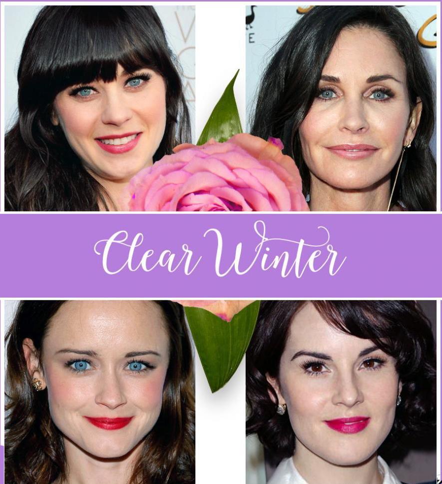 Холодный цветотип внешности: фото и описание, какие цвета подходят