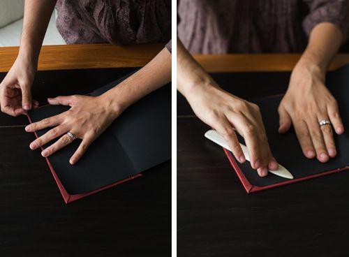 Соединение книги