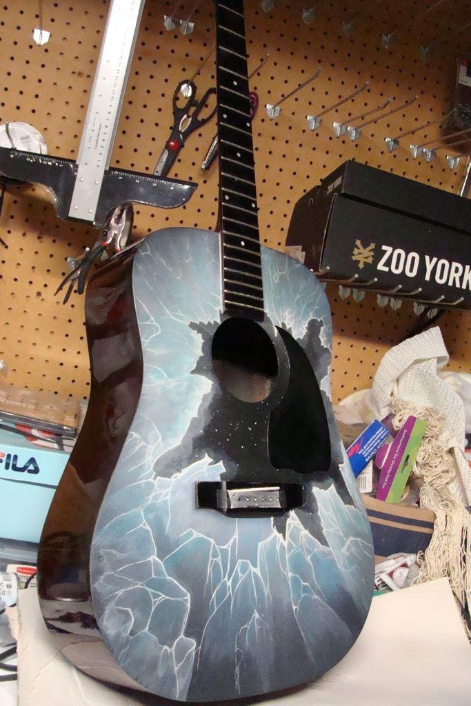 Покраска гитары