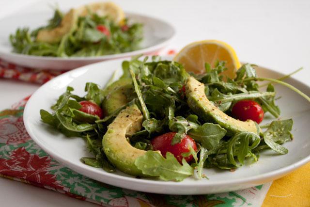 Рецепт легкого салата на ужин