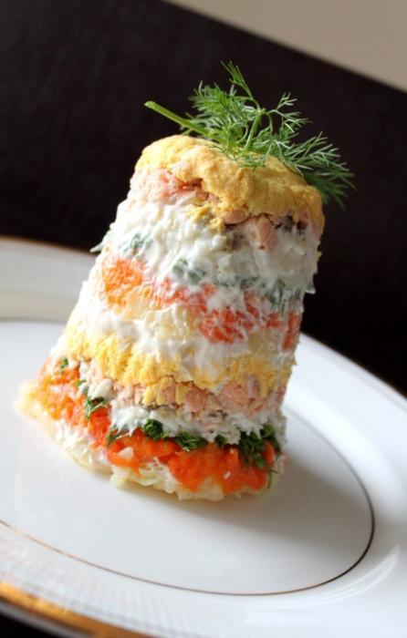 самый вкусный рецепт салата мимоза