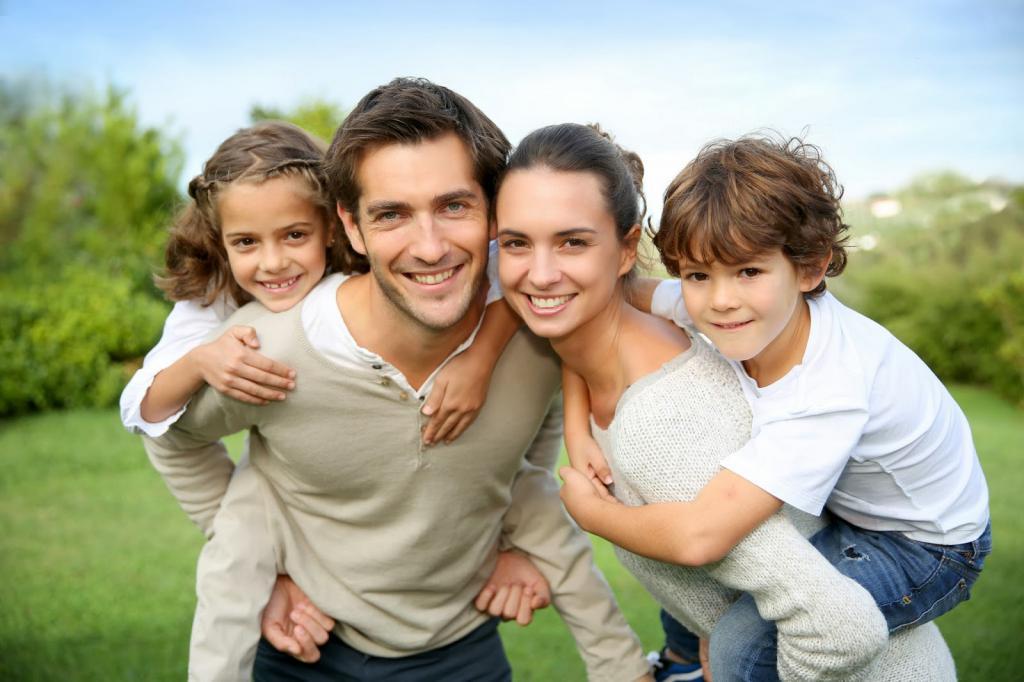 Картинки счастливой семьи с сыном