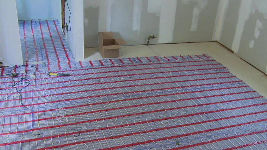 underfloor heating causes bad heat