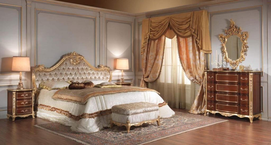 Классические интерьеры спален: описание, сочетание цветов и фактур, советы дизайнеров, фото