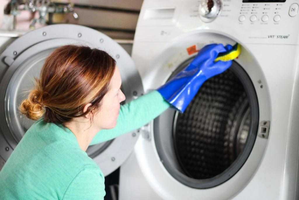how to remove the smell from a washing machine