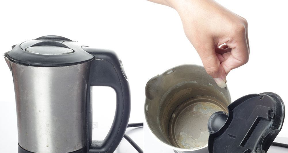 Как почистить электрический чайник от накипи: способы, средства, инструкции