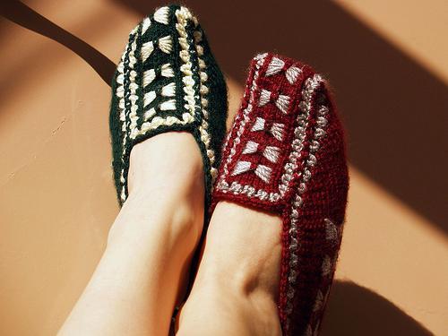 Как связать носки 41 размера спицами