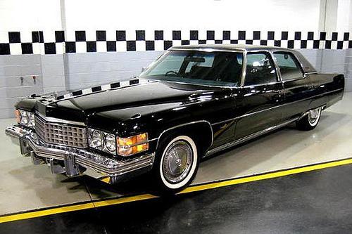 Cadillac Fleetwood: роскошь, краса и рок