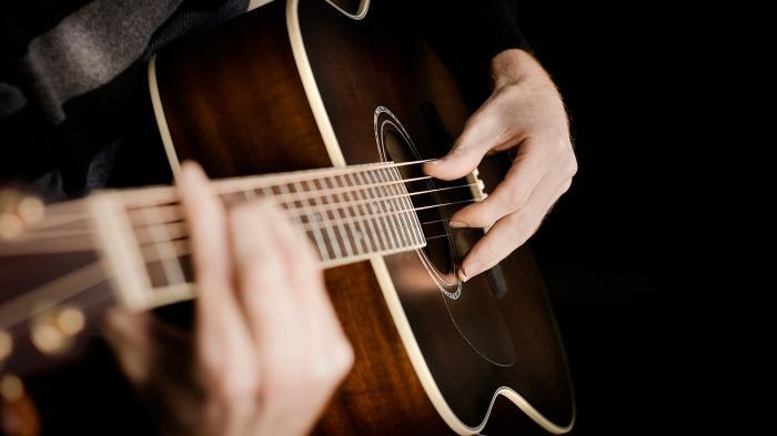 простой бой на гитаре