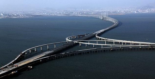 Самый длинный мост в мире китайцы