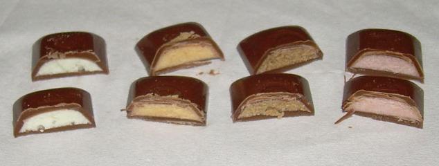 сколько калорий в шоколадных конфетах