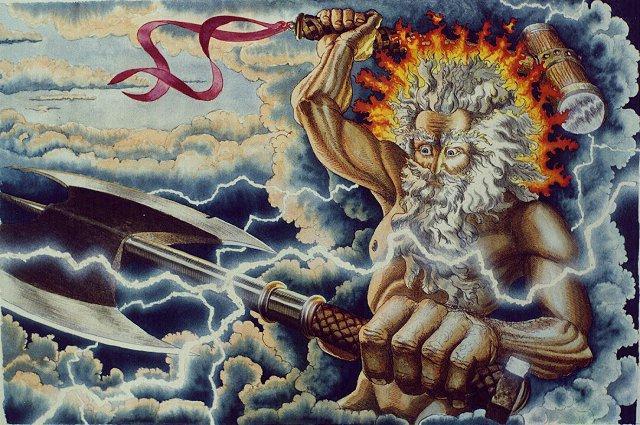 Картинки всех богов славяне молили бога грома