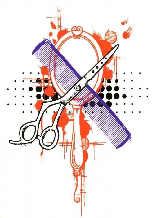 Надписи, открытки классный парикмахерский салон