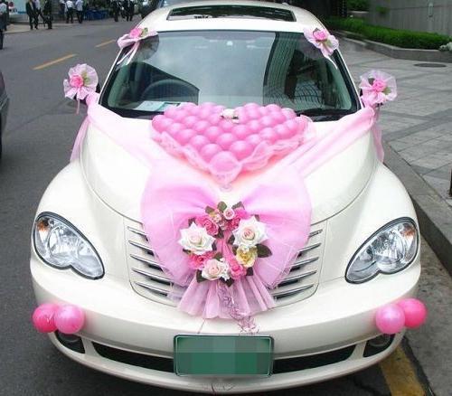 Украшение автомобилей свадебного кортежа