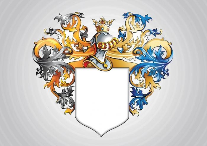 Красивые рисунки гербов