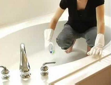 как отчистить ванну до бела