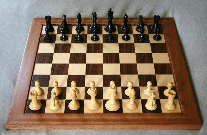 Король в шахматах где стоит