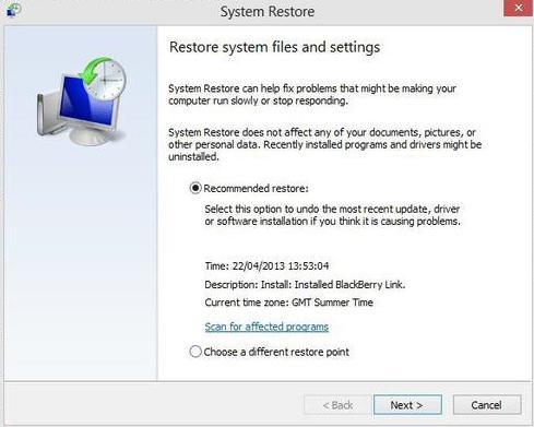 как откатить windows 7 если нет точек восстановления