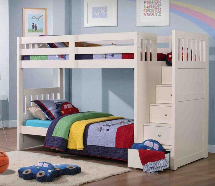 кровать чердак с кроватью внизу